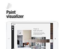 Flügger Paint Visualizer