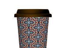 COFFEE FLOWER PATTERN
