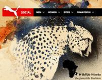 Puma Creative Factory // PUMA Social Club Website