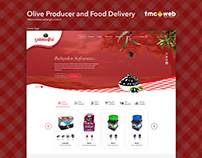 Olive Producer and Food Delivery Website