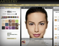 Artistry Virtual Makeover Promo