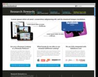 Research Rewards - UX Wireframes & Website Design