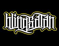 blingsatan custom font