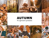 Free Autumn Instagram Filter - Lightroom Preset