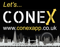 ConeX Business Card App Banners