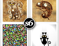 Society6 Shop - BluedarkArt Designs