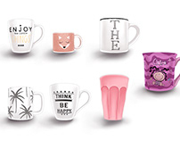 COLLECTIONS MUGS & NAILS