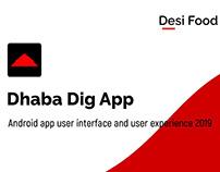Desi Food App UI