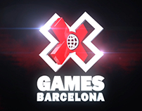 X Games Barcelona 2013 Logo Animation