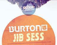 Burton Jib Sess