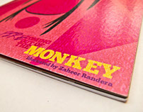 Illustration book - Fire coming out of the monkey