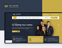 The Lawyer | UI/UX Design
