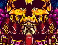 Máscara Roja