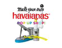 Make Your Own Havaianas Pop Up Shop