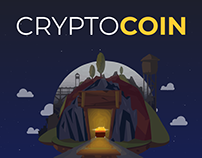 CryptoCoin — Responsive Landing Page Template