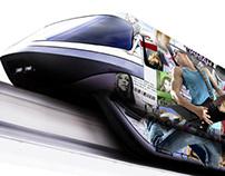 Jakarta Monorail Prints