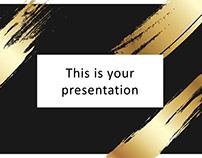 Chronos Free Elegant PowerPoint