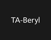 2018: Typeface / TA-Beryl