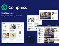 Coinpress | Cryptocurrency Magazine & Blog WP Theme
