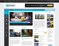 Mazaya, Joomla Responsive News Multipurpose Template