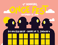 Once Fest Poster