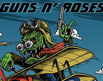 Guns n Roses poster 2017