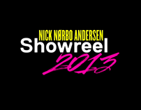 Showreel 2013 - Nick Nørbo Andersen