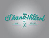 Diana Willert Hair Stylist Corporate Design