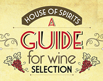 A Guide for Wine Selection (Infographic)