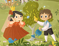 The Little Nut Tree-Ladybug magazine