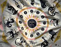 The Zodiac Scarf: now in my shop!