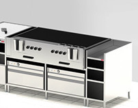 Kitchen equipment and layout design