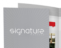 Signature Massage Tri-Fold Brochure