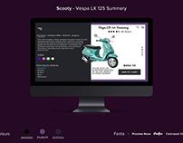 Scooty - VespaLX125 Summary