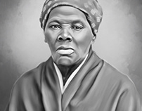 Harriet Tubman Digital Painting by Wayne Flint