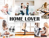 Free Home Lover Mobile & Desktop Lightroom Preset