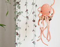 Octopus, Flamingo & green cuttings passion