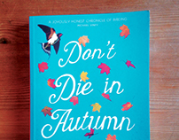 Don't Die in Autumn book cover design