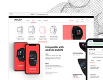 iTouch Wearables Website Redesign