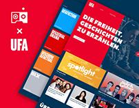 UFA.de Relaunch - Uniting a century of film & TV legacy