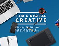 Freelance Creative Website Concept