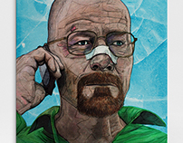 Little White Lies Illustration Entry - Breaking Bad