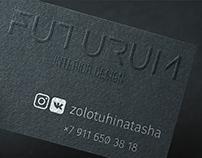 Identity for the futuristic interior designer