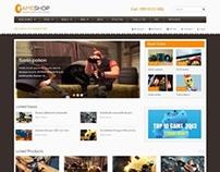 SM GameShop, Magento Playful Game Arcade Theme