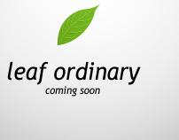 Leaf Ordinary Agency (Teaser)