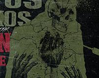 RESTOS HUMANOS + COC + BUIO + INDIAN NIGHTMARE | poster