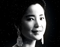 Teresa Teng tribute concert visual design