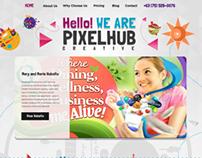 Pixelhub Creative Rebrand Mockup 2