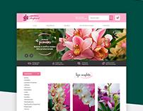 E-commerce Orquídeas Chapecó