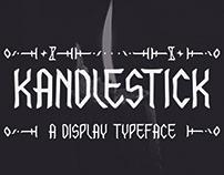Kandlestick - Free Display Font